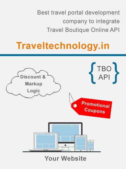 TBO API Integration, Travel Boutique Online API Booking engine in